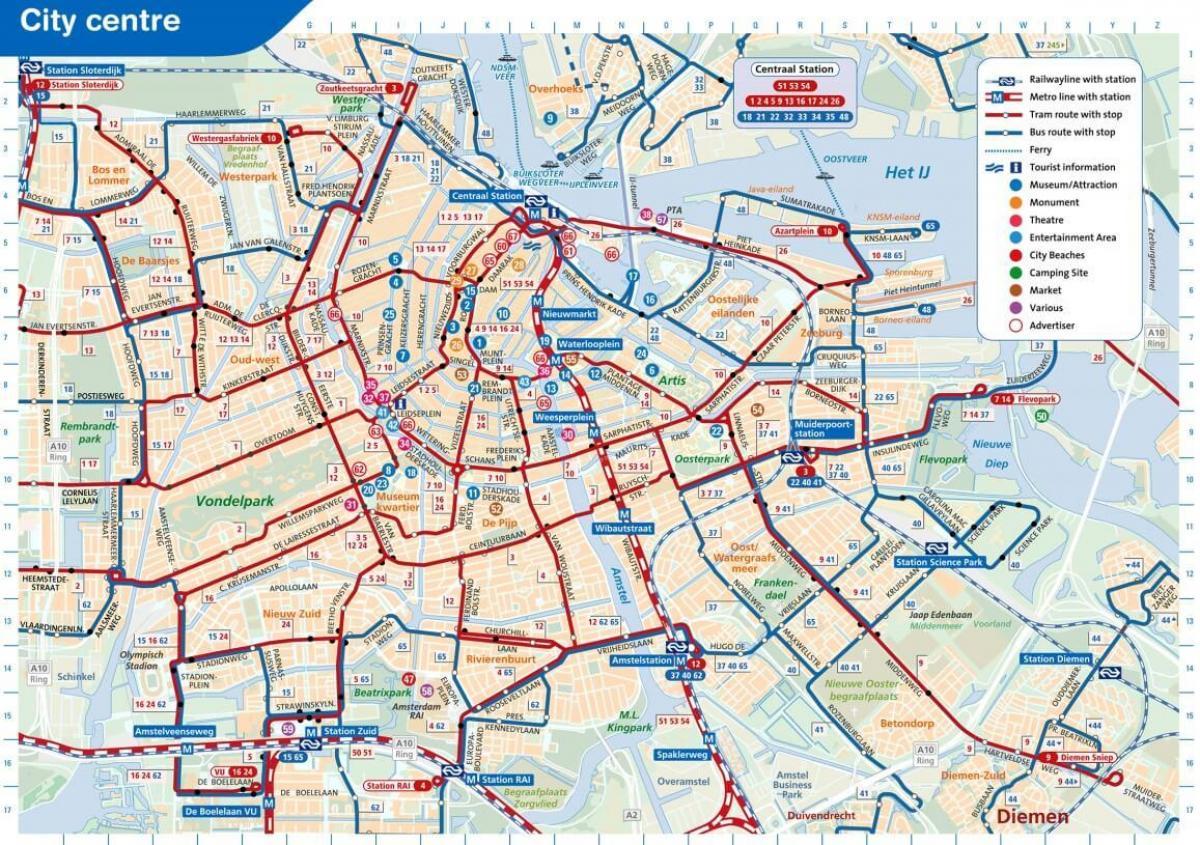 kart over amsterdam Amsterdam vogn kart   Kart over Amsterdam vogn (Nederland) kart over amsterdam