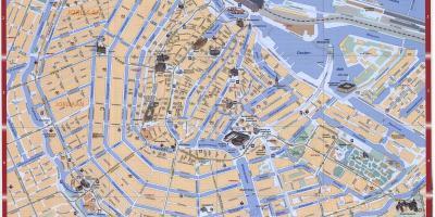 amsterdam sentrum kart Amsterdam kart   Kart Amsterdam (Nederland) amsterdam sentrum kart