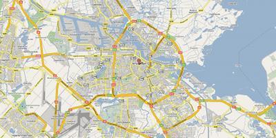 kart over amsterdam sentrum Amsterdam kart   Kart Amsterdam (Nederland) kart over amsterdam sentrum